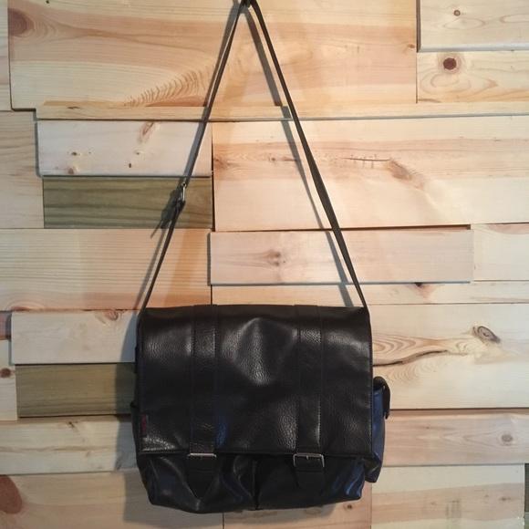 Aldo Handbags - Aldo feaux leather messenger bag